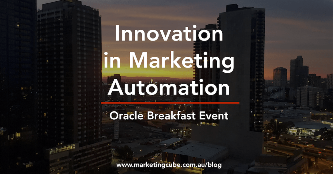 Innovation in Marketing Automation
