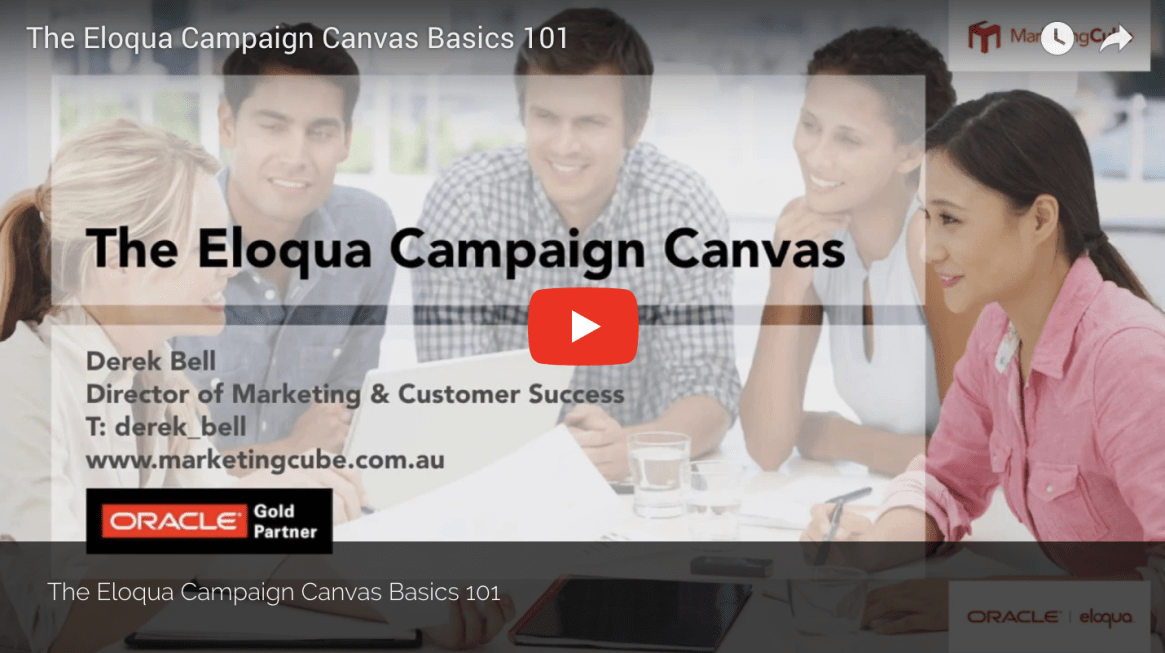 The Eloqua Campaign Canvas Eloqua User Group