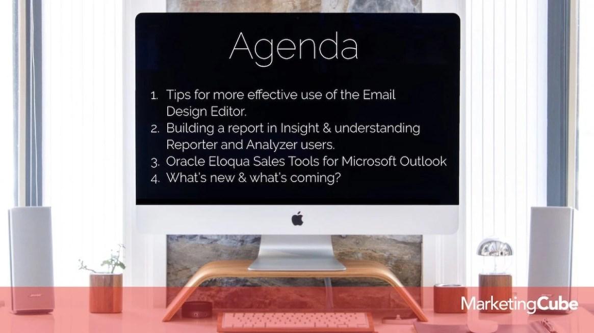 20190226 Agenda FEB Eloqua User Group