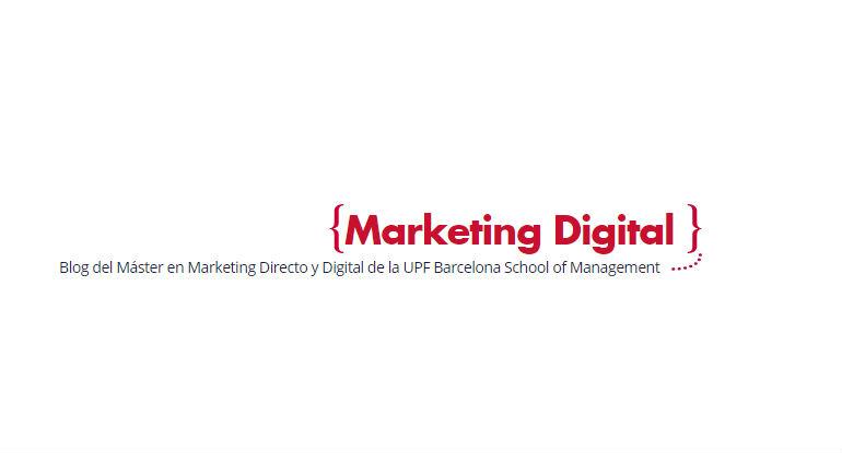 Bienvenidos al Blog del Máster en Marketing Directo y Digital