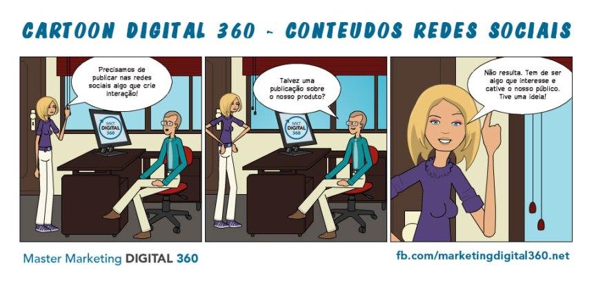 Cartoon Digital 360 - Conteúdos Redes Sociais