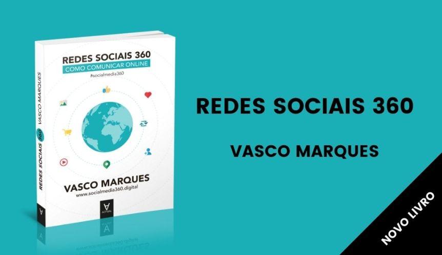 livro redes sociais 360 2020 vasco marques