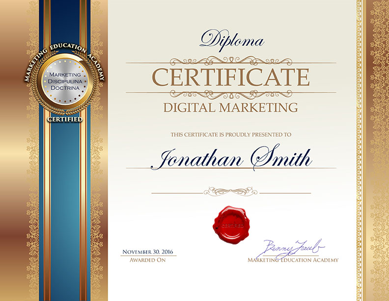 18/09/2021· our online digital marketing course will help you gain full proficiency in digital marketing skills like search engine optimization (seo), search engine marketing (sem), google analytics and web analytics, social media, content marketing, email marketing, etc. Digital Marketing Certificate Program   Marketing ...