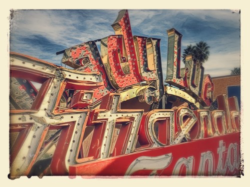 Google Creation of the Neon Museum In Las Vegas