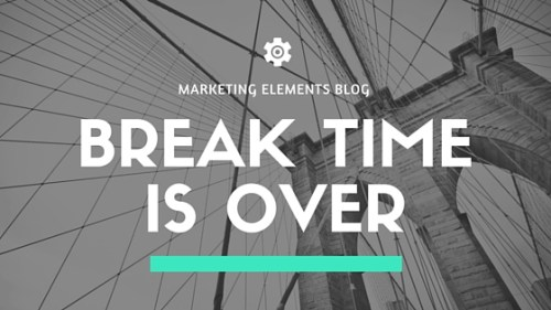 Marketing Elements Blog