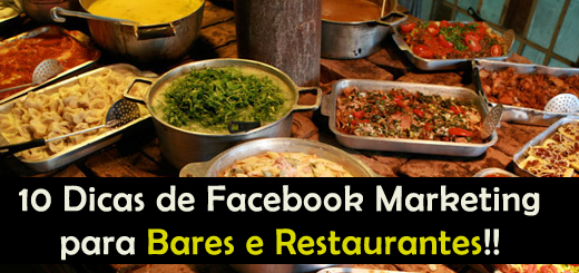 10 Dicas de Facebook Marketing para Bares e Restaurantes Chamarem mais Clientes no Final de Semana!