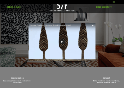 Diego Giacometti Manufacturing Reproduction Metal Furniture