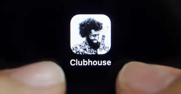 Foto do ícone do aplicativo Clubhouse, uma nova rede social que funciona através de salas de aúdio. Foto: Reuters/Florence Lo
