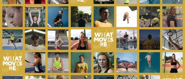 What Moves Me campaign with Toyota and Olympic Channel