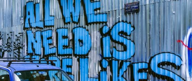 all we need is likes grafitti