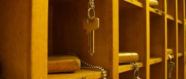 keys hanging up