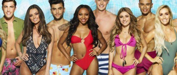 Contestants on Love Island series seven.