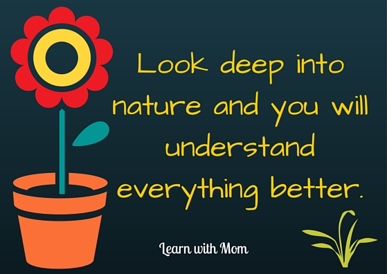 Learn with Mom - nature
