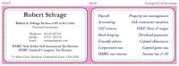 business card design accountants education training coaching