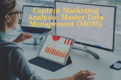 Content Marketing Analysis: Who's Winning the Master Data Management (MDM) Market | ENDS Media