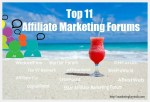 Affiliate marketing forums