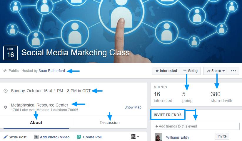 Facebook Event Marketing Strategies