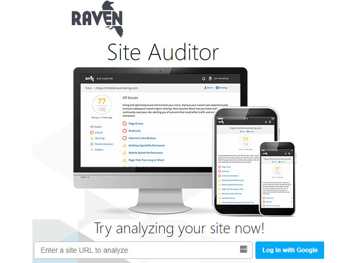 Free SEO Audit tools