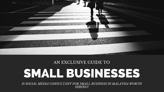 social media consultants for small business in Malaysia