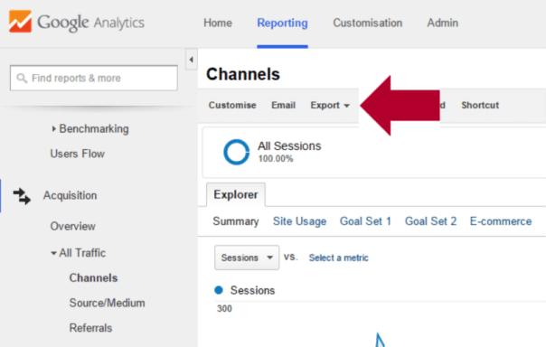 google-analytics-export