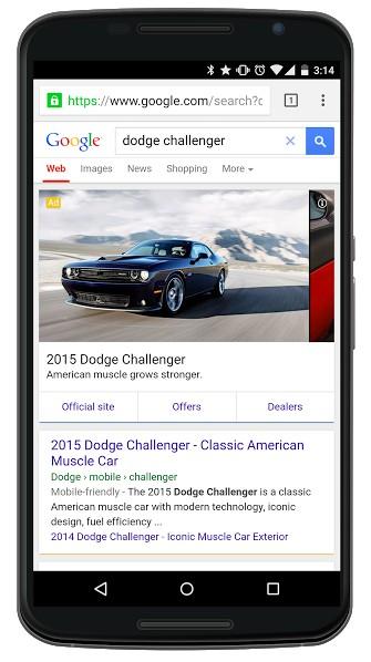 google automotive ads