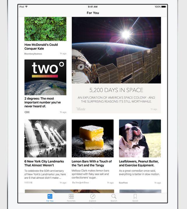 apple s news app