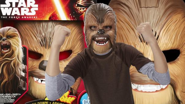 Hasbro's Chewbacca Electronic Mask.