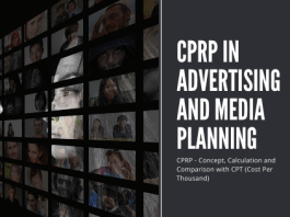 CPRP in Media Planning and Advertising