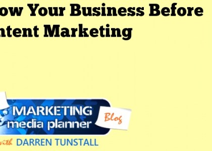 Know Your Business Before Content Marketing