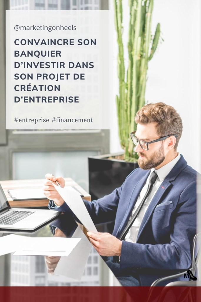 banquier , financement , entrepreneur , entreprenariat , projet de création