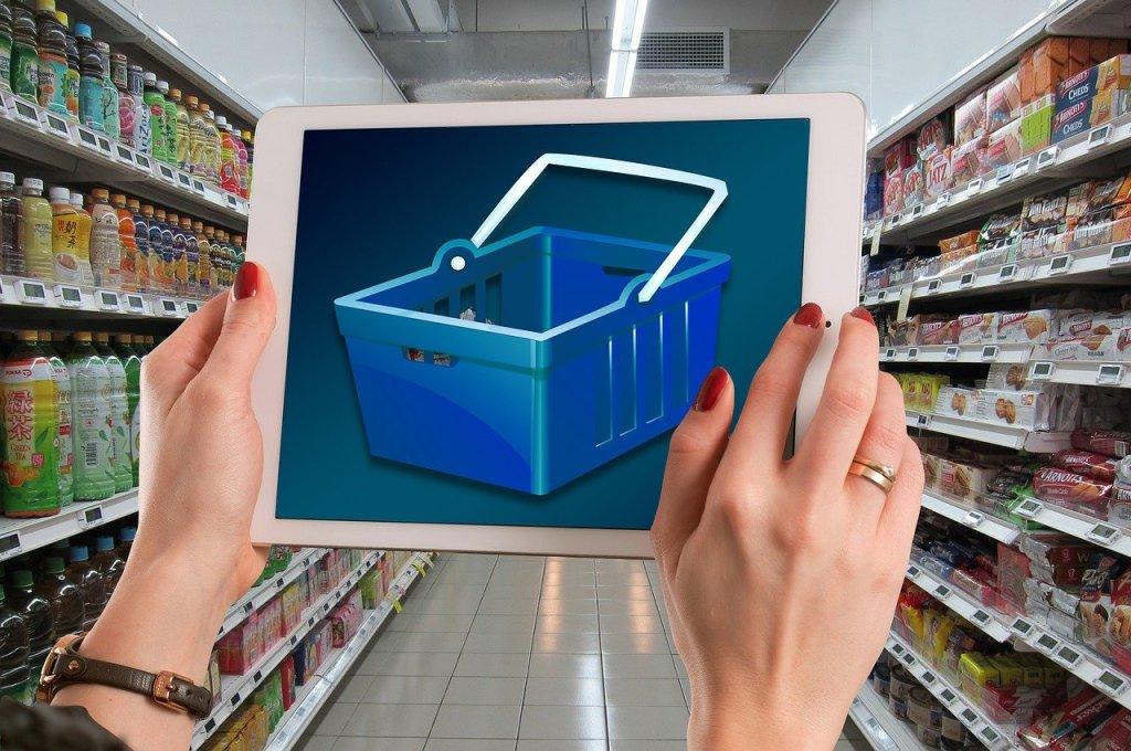 shelf, stock, supermarket