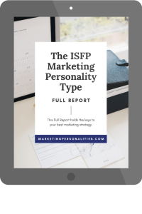isfp marketing personality type full report