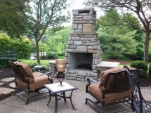 Outdoor Patio Furniture Arrangement