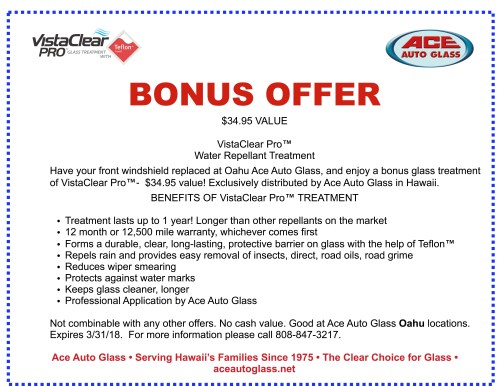 small resolution of ace auto glass coupon