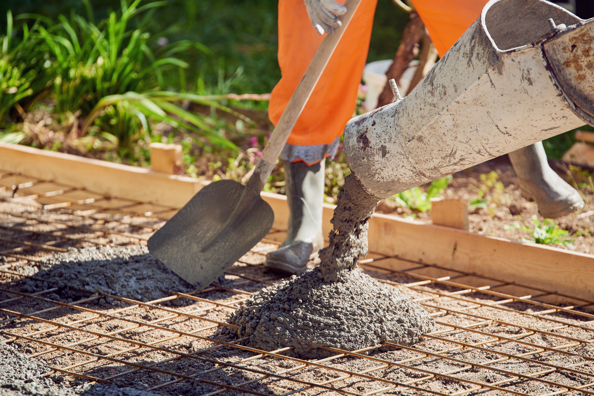 Dry Set Concrete