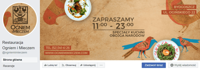 facebook marketing restauracyjny