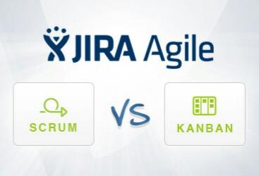 Scrum vs kanban logo