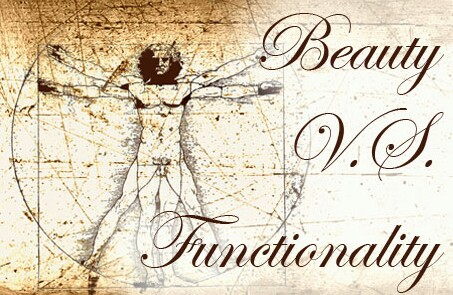 Beauty vs functionality image