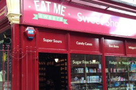 Eat me sweet shop benefited from a grant from SMBC