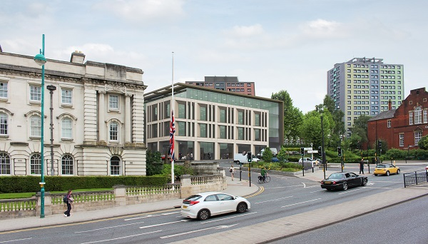 Stockport Homes Top 100 employer's new HQ on Edward Street