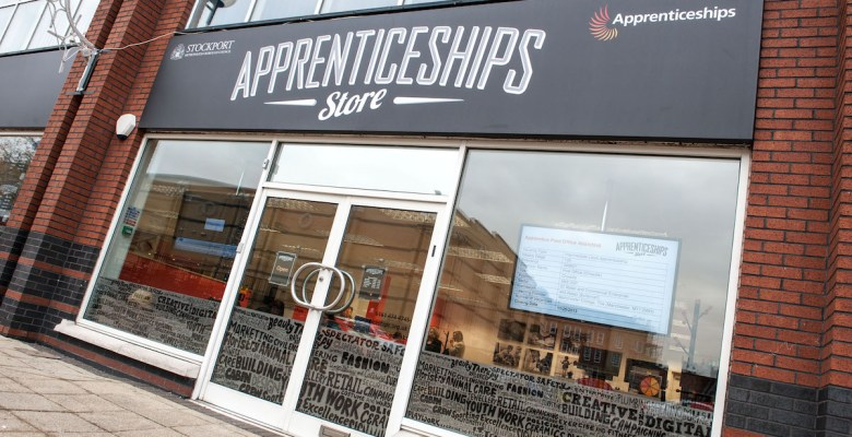 Stockport Apprenticeships Store