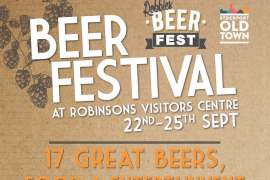 Robinsons and Stockport old town beer festival