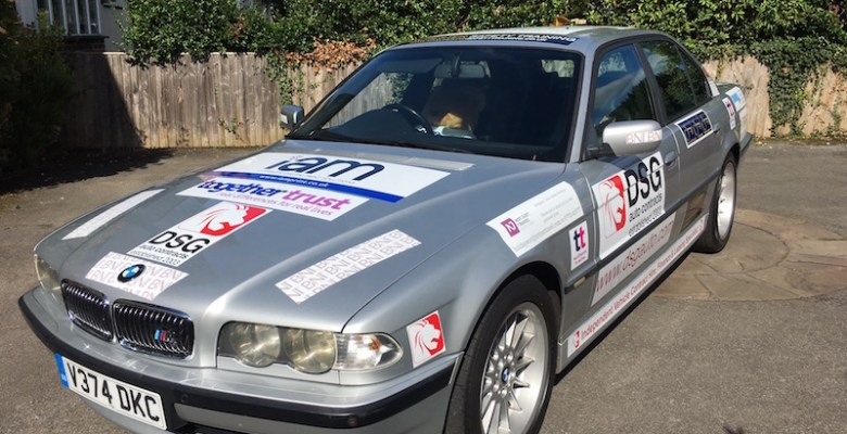 DSG Autos en-route to Screwball Rally for Together Trust