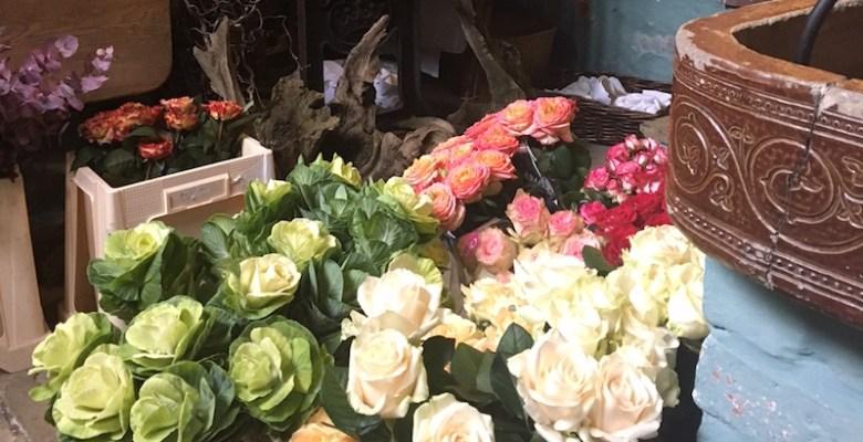 Bramall Hall flower festival