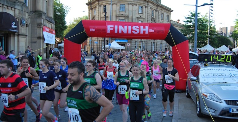 Record numbers took part in the BIG Stockport run