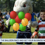 Stockport businesses join the balloon race at Stockport Rugby festival