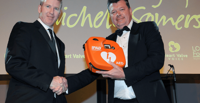 Stockport based C&C Healthcare Limited, part of the C&C Insurance Brokers Limited, have donated a defibrillator to Lancashire County Cricket Club.