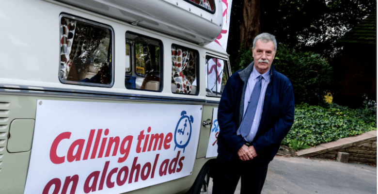 Councillor Colin Foster calling for time on alcohol advertising before 9pm