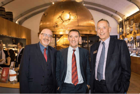New Northern Powerhouse Partnership Board member Lord Jim O'Neill with Graham Prest and David Powell