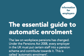 Clarke Nicklin offer advice on Automatic enrolment workplace pensions